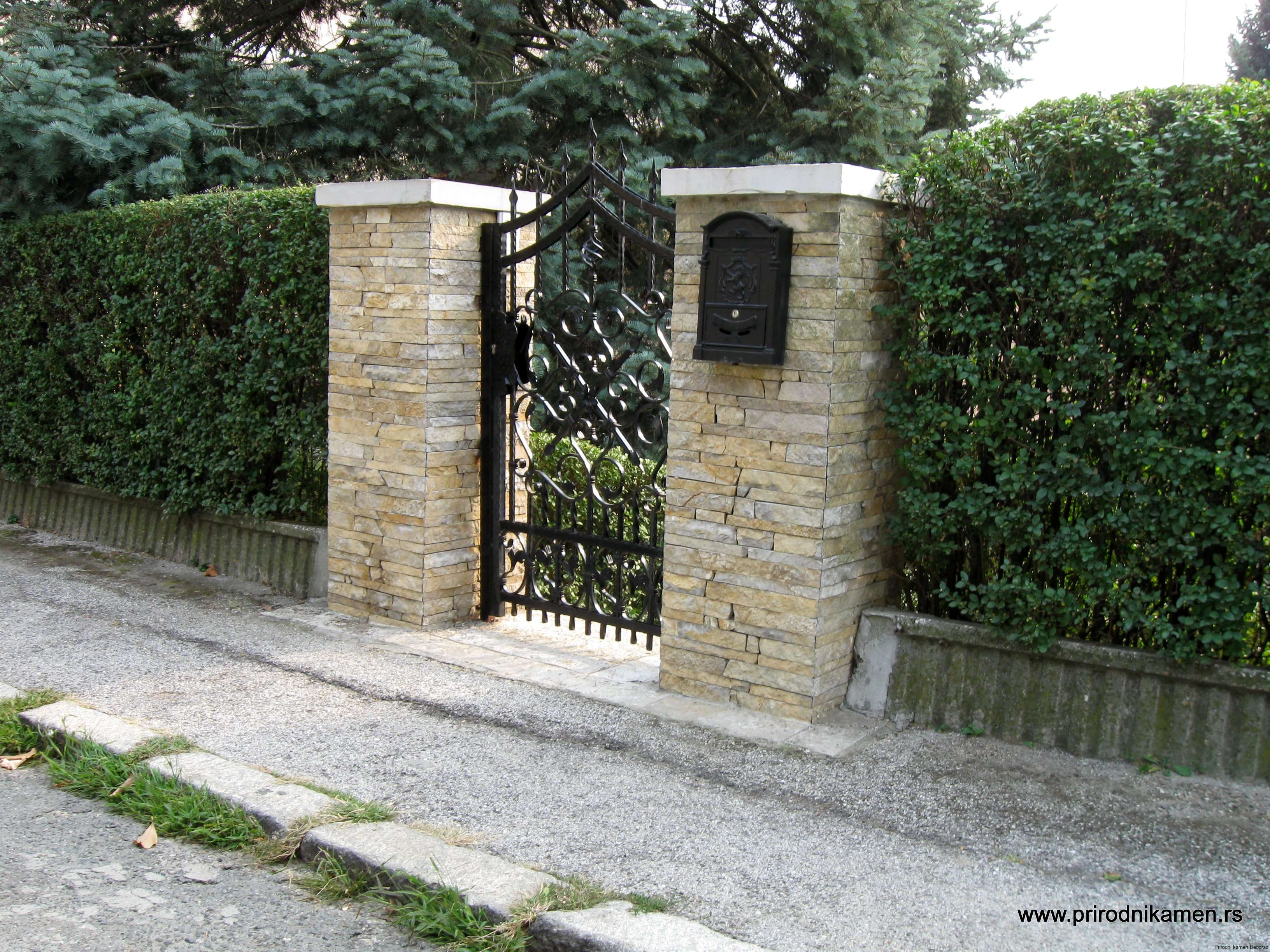 Uredjenje eksterijera prirodnim kamenom (18)