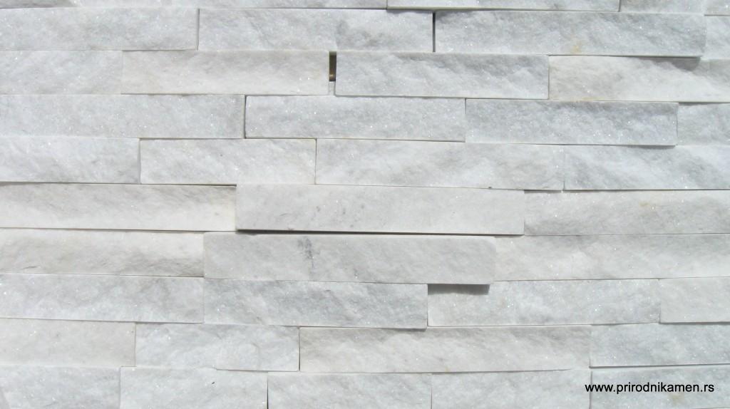 Belka-Beli prirodni dekorativni kamen-Beli kamen za zid