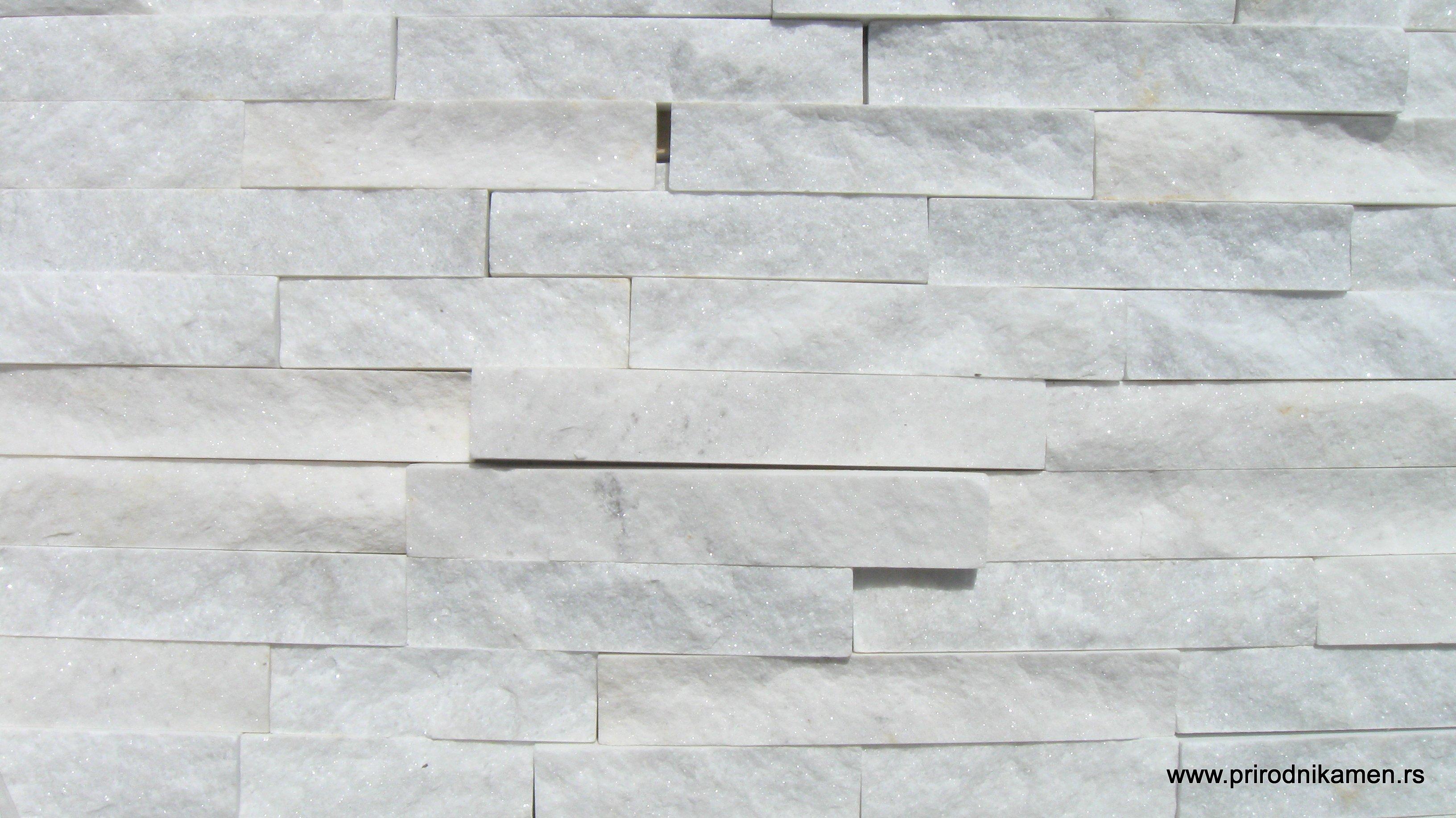 Belka Beli Prirodni Dekorativni Kamen Beli Kamen Za Zid