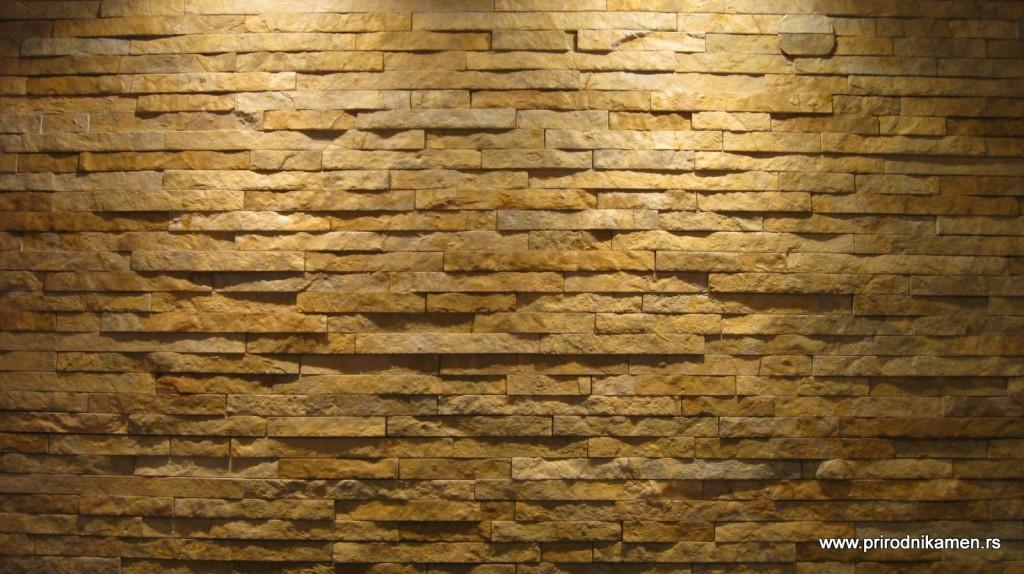 Prirodni dekorativni kamen za dnevni boravak