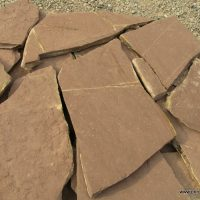 lomljeni braon kamen