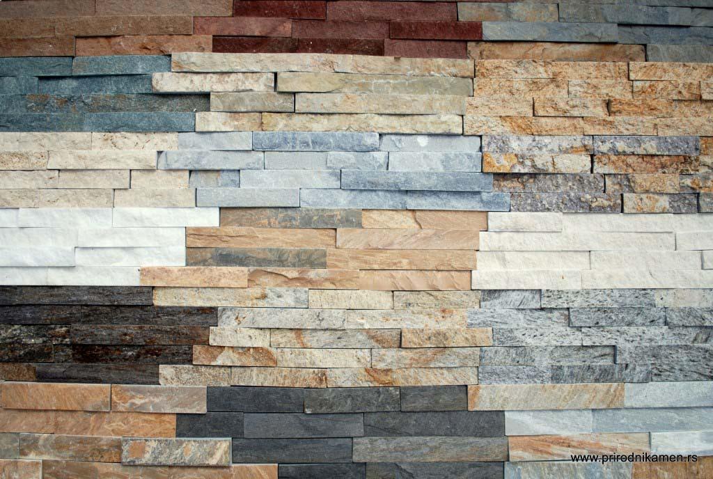 Izbor prirodnog dekorativnog kamena